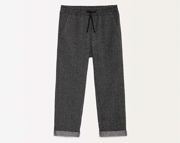 Sweatpants with cuffs