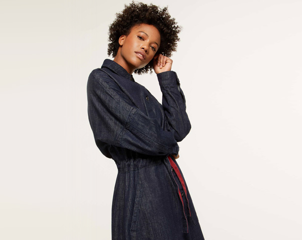 Oversized fit trench coat