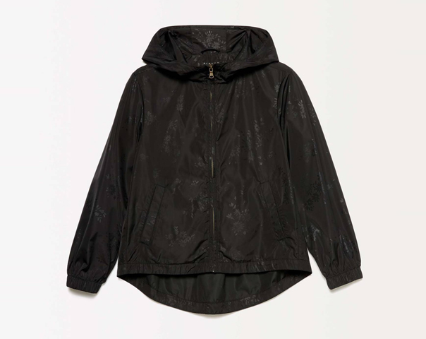 Light jacket with hood