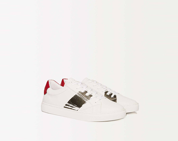 Low top sneakers with logo