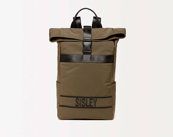 Backpack in nylon with logo